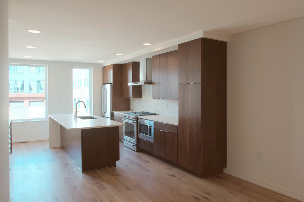 Photo is of a comparable Callahan Ward property and finish samples can be viewed by appointment with an interior designer that will guide you through the finish selection process.