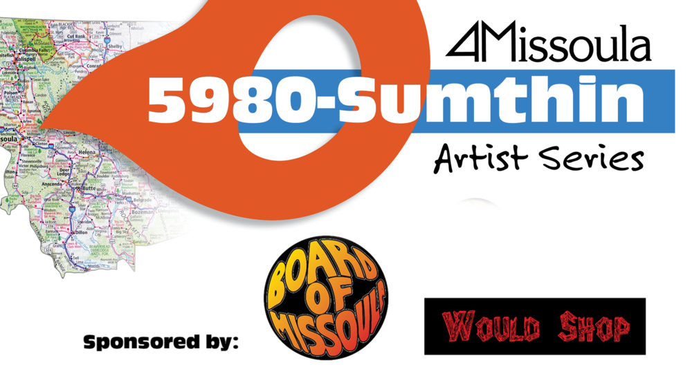 The 5980-Sumthin Guest Artist Series consists of 12 skateboards, to be donated over the course of a year, whose designs were created by amazing local artists. Click here to learn more.