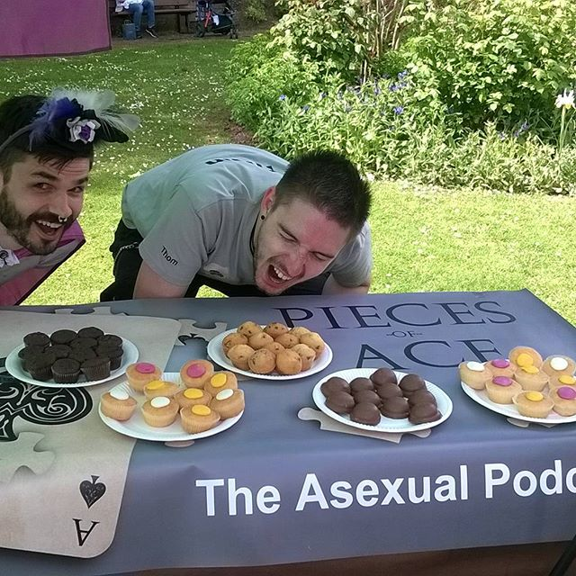Did you see us at Exeter Pride last Saturday! #pride #stayace #aceandinyourface #asexuality #asexual #asexualpodcast #piecesofacepodcast #piecesoface #podcast #exeterpride #lgbtpride #lgbtq #lgbtqap