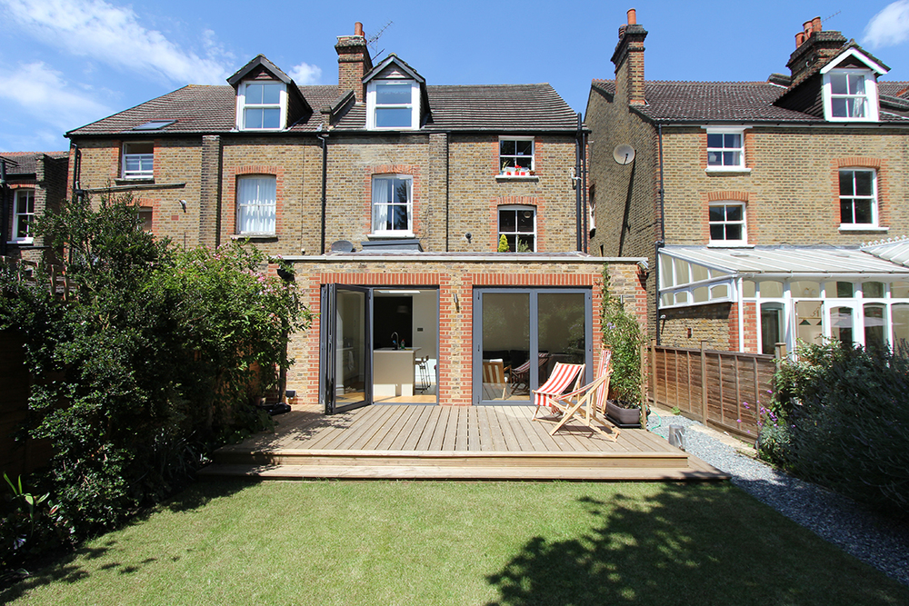 SURBITON   REAR EXTENSION