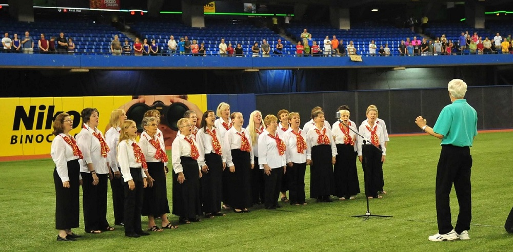Harmony Singers Sing Anthems at Blue Jays Game.jpg