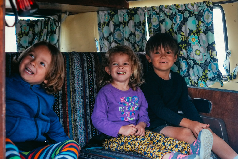 Introducing the next generation to the VW van life.