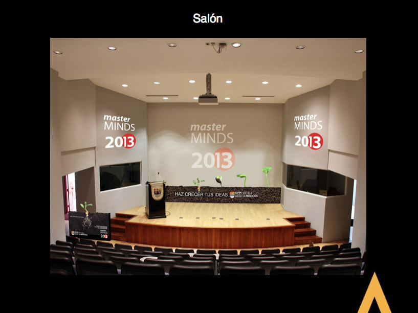 Campaign for Master Minds Guatemala 2013 (stage)