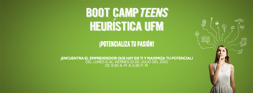 Campaign Boot Camp Teens #3 (Facebook Fanpage Cover)
