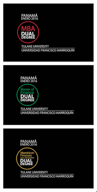 Online Campaign for the release of Dual Degree Master's Programs in Panamá 2015 (Facebook Sponsored Posts)