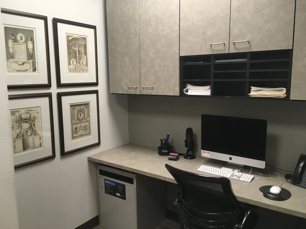 Interior of Dr. Office