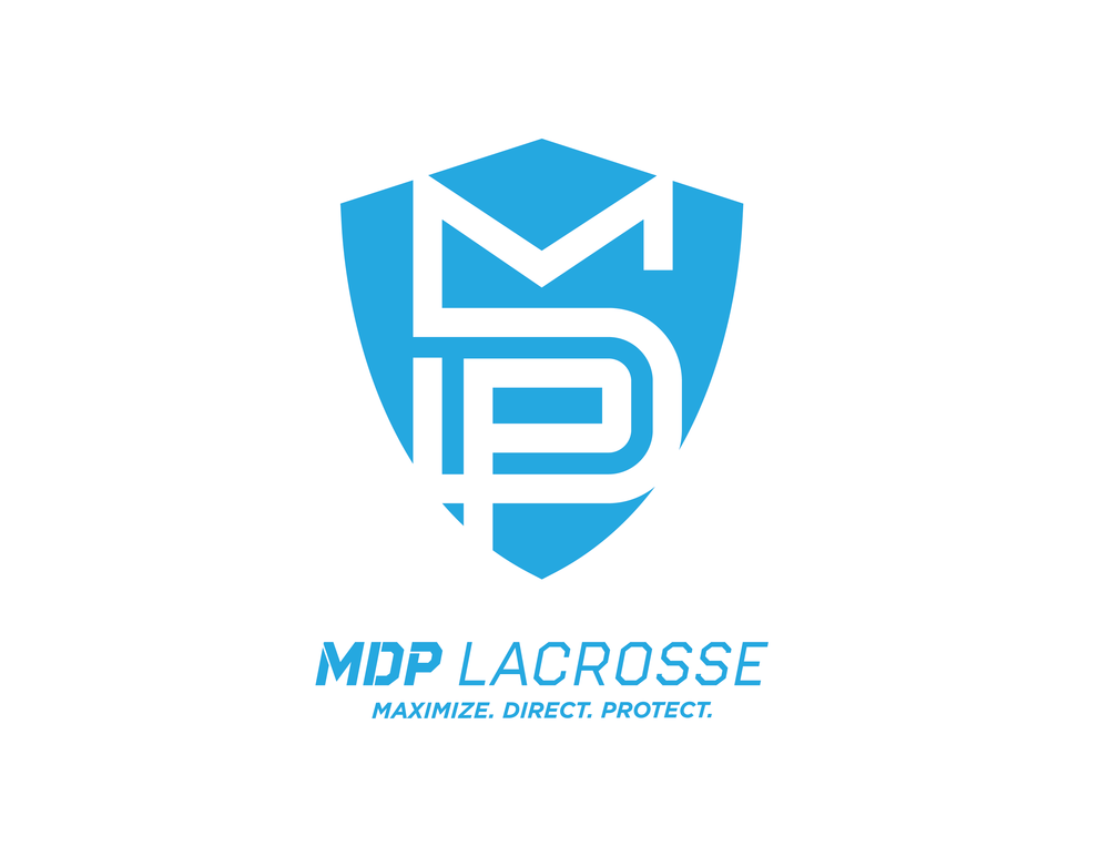 """This logo represents the MDP athletes that have worked tirelessly to become a more complete player physically, mentally and emotionally. The """"Shield of Confidence"""" directly reflects the hard work and dedication of an MDP athlete."""