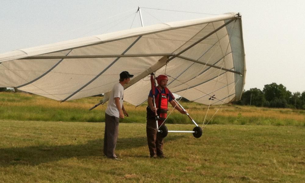 Minnesota Hang Gliding lesson