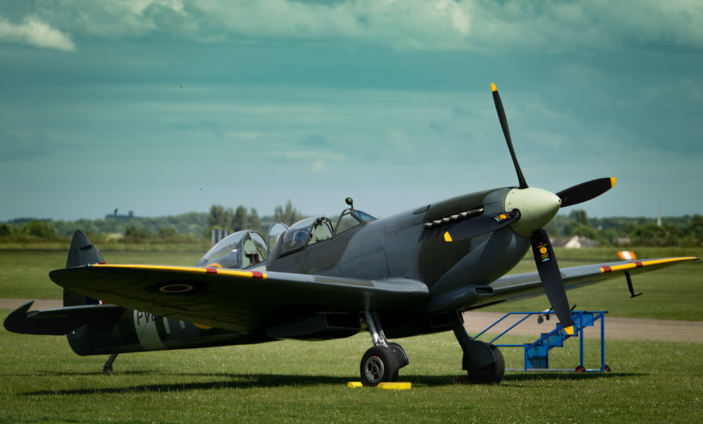 The iconic Spitfire