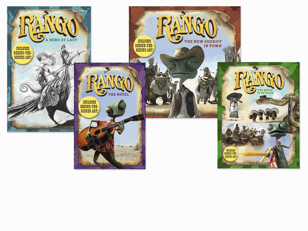 Rango Storybook Comps, Movie Tie-In