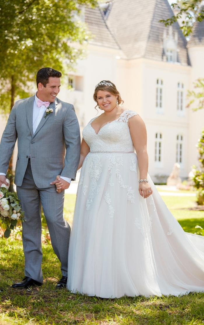 Stella York Plus Size Wedding Dress