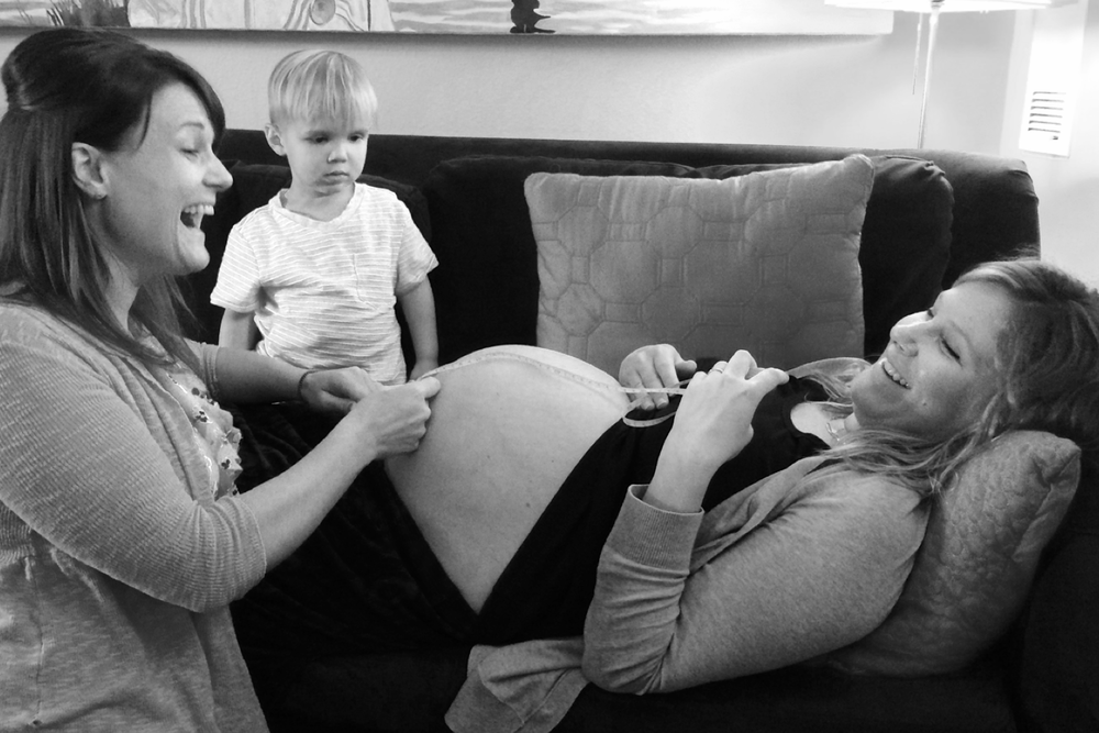 Prenatal Care with Mom and Baby at Home