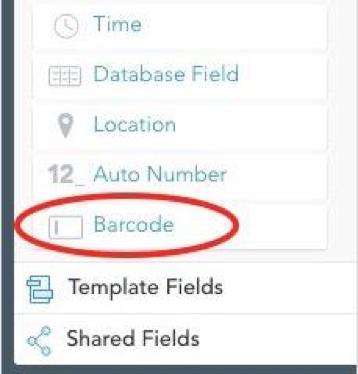 Barcode Field