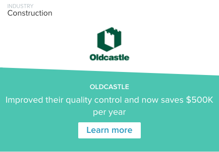 Oldcastle GoFormz Case Study