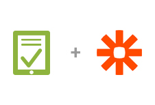 Integrate hundreds of your favorite apps with Zapier.