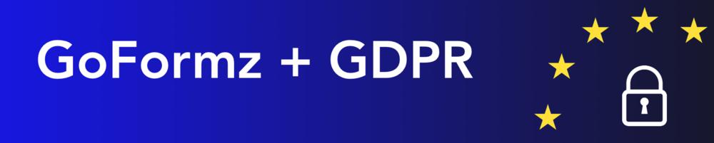 GoFormz GDPR
