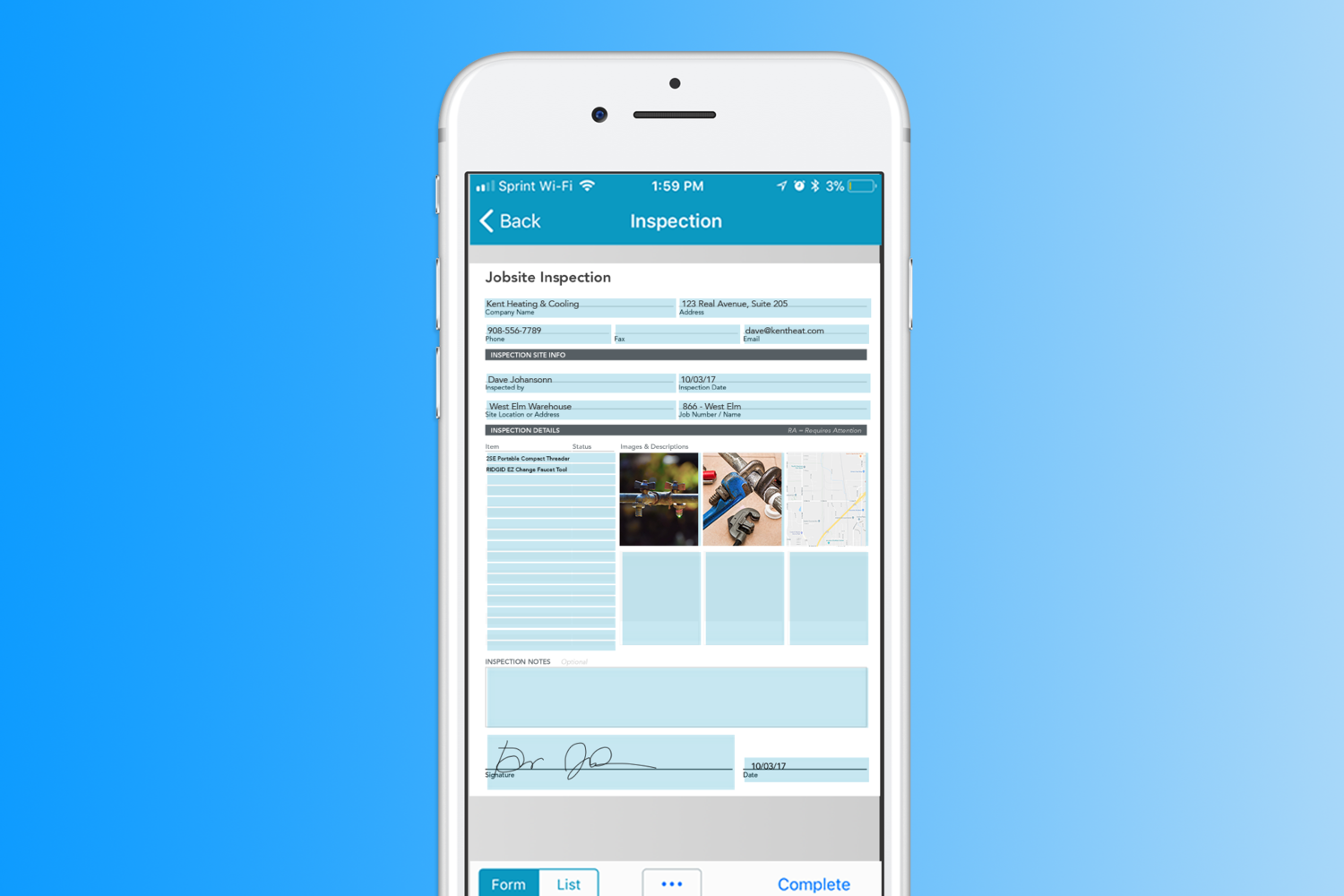 The Anatomy of a Powerful Mobile Form · Blog | GoFormz Mobile Forms