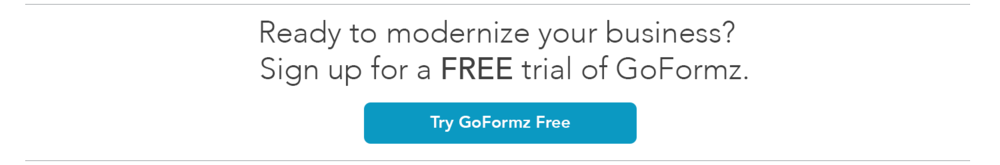 Click here for a free trial of goformz