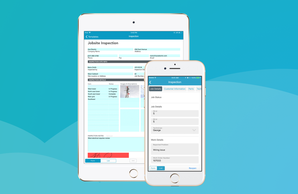 GoFormz mobile forms streamline and simplify your workflow