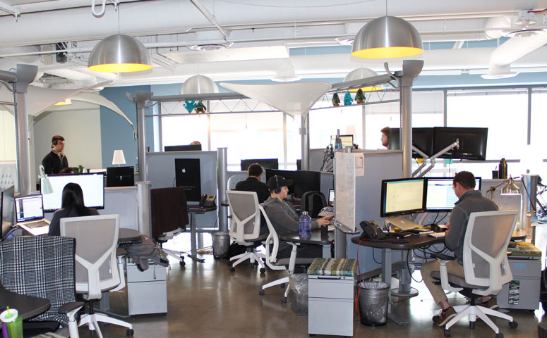 GoFormz HQ's modern and spacious space