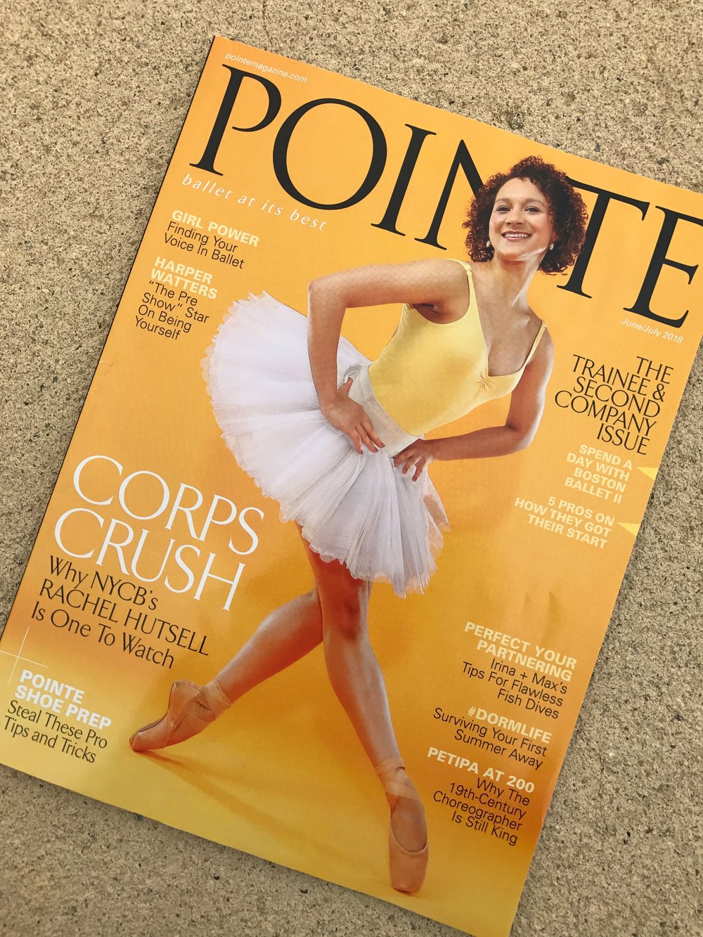 Pointe Magazine , June/July 2018