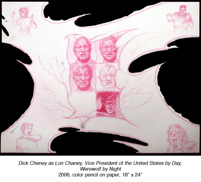 Dick Cheney as Lon Chaney, VP of the United States by Day, Werewolf by Night.jpg