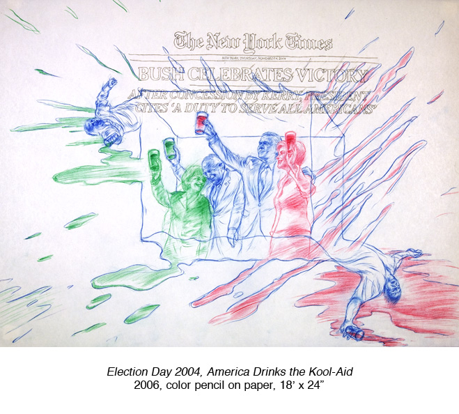 Election Day 2004, America Drinks the Kool-Aid.jpg