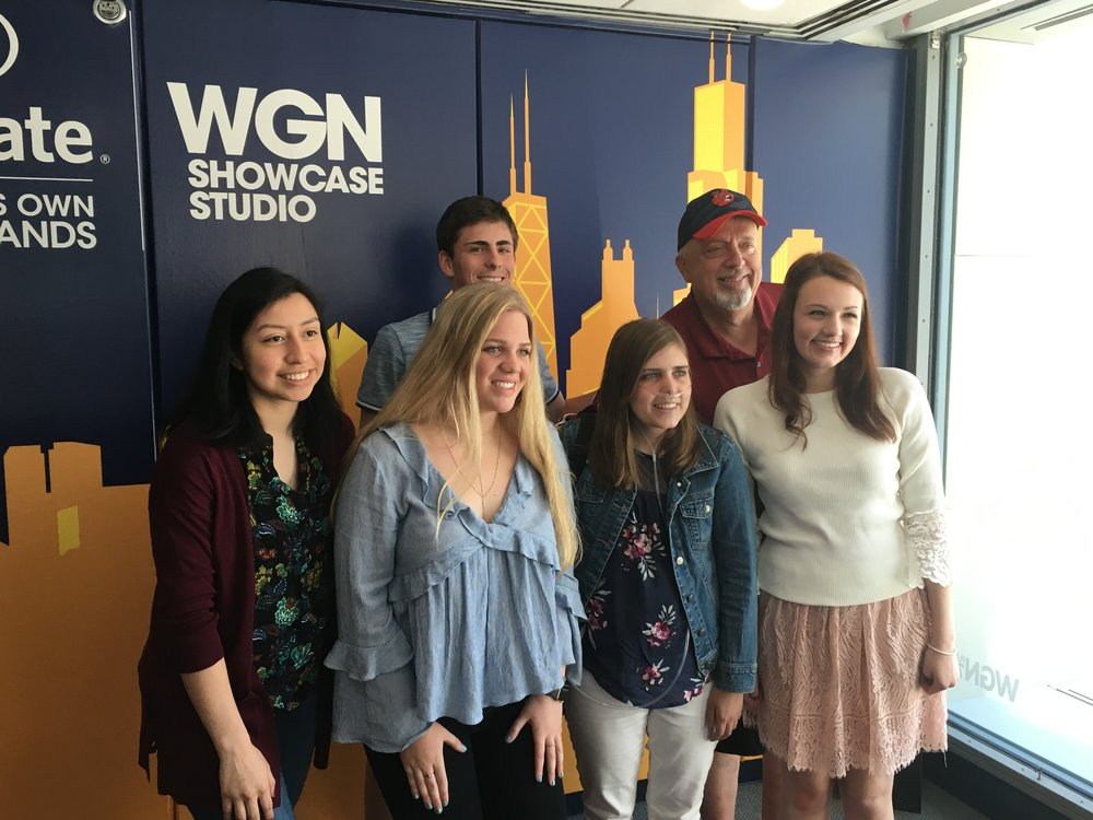 Teens advocate for tobacco 21 on WGN's Steve Cochran show -