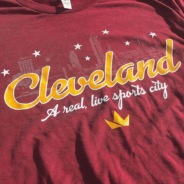 Double tap if you're ready for the weekend! #TGIF. Also #Cavs gameday! Shirts online now!! Are you proud to be from Cleveland?