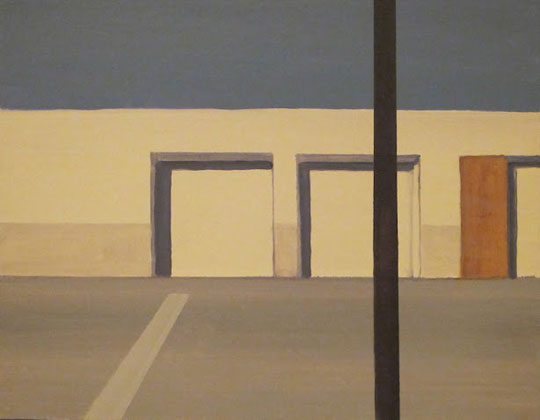 "Fulkerson Street I , Hannah Richman, oil on canvas, 14"" x 18"", $400"
