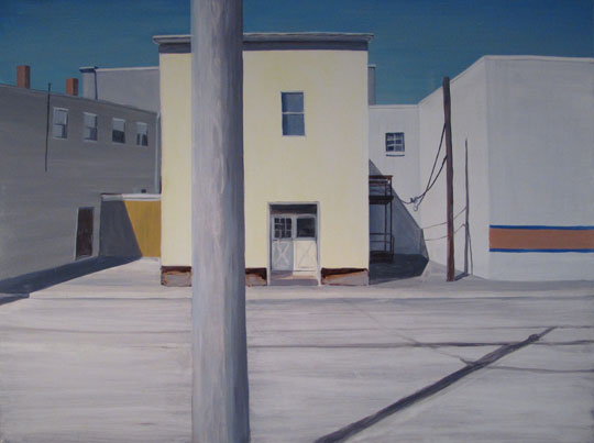 "Felton Street V,   oil on canvas, 36"" x 48"",   sold"