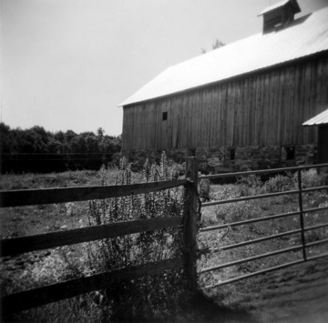 "Vermont Barn,  silver gelatin print, 14"" x 11"",  $195 framed"