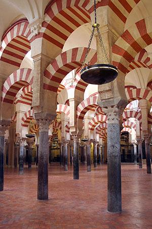 "La Mezquita Mosque, Cordoba, Spain,  archival toner print, 18"" x 12"",  $60"