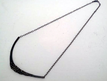 Wave necklace,   sterling silver,   $136