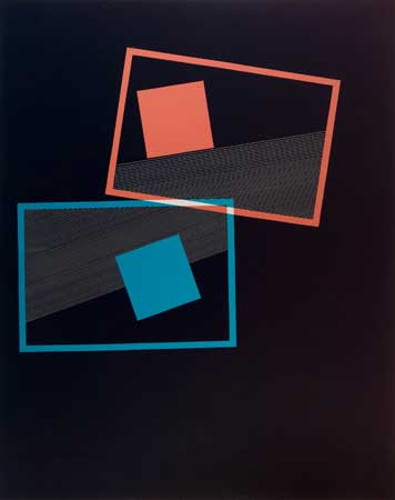 "Untitled (10071201) , Laura Wulf, photogram with etching, 20"" x 16"" framed, $1,200"