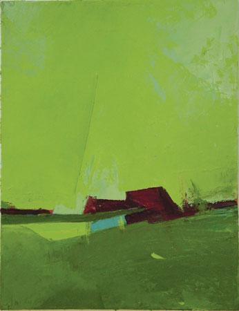 "Flyer,  oil on canvas, 17"" x 13"" framed ,  $1,300"