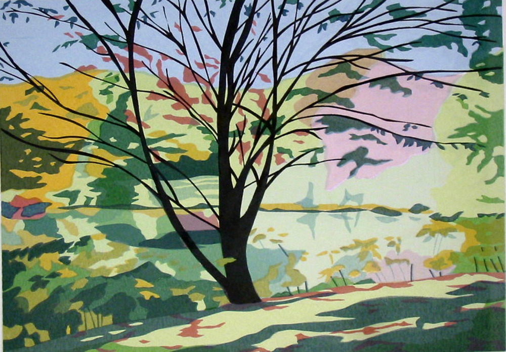 "In the Fenway (18/55) , serigraph, 20"" x 15"", $290"