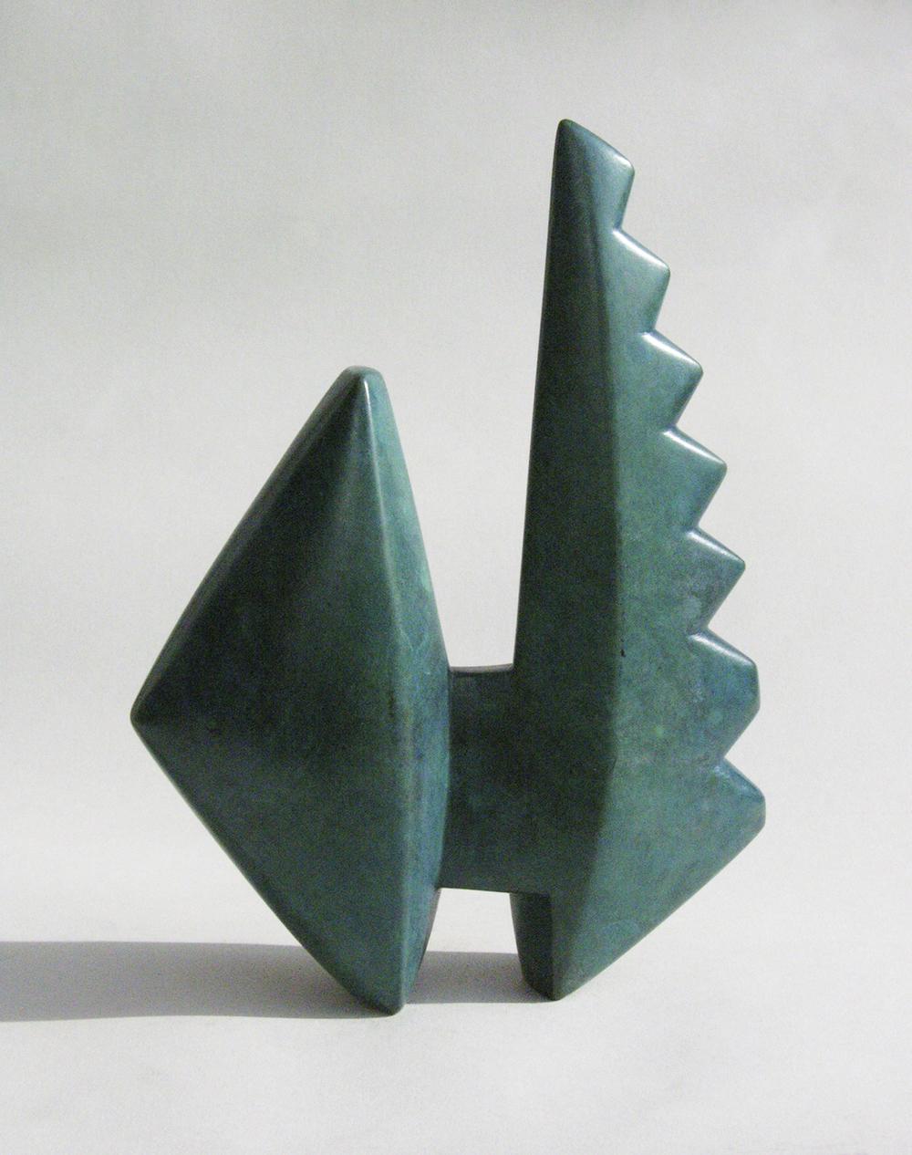 "Peter DeCamp Haines, Brancusi Bird, 7 1/4 "" x 4 1/2"" x 2"", bronze"