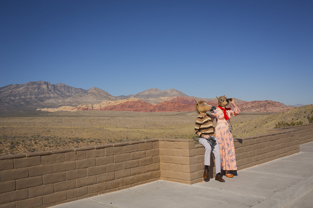 "Horace and Agnes: Red Rock Canyon , digital archival inkjet print, 13"" x 19"", $285"