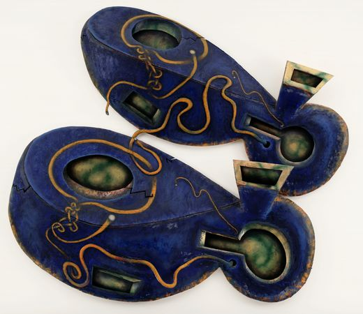 Elizabeth Murray,  Dis Pair , 1989-1990