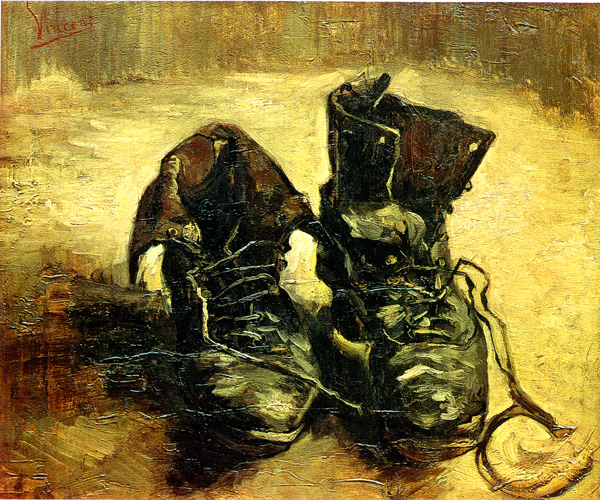 Vincent Van Gogh,  A Pair of Shoes , 1885