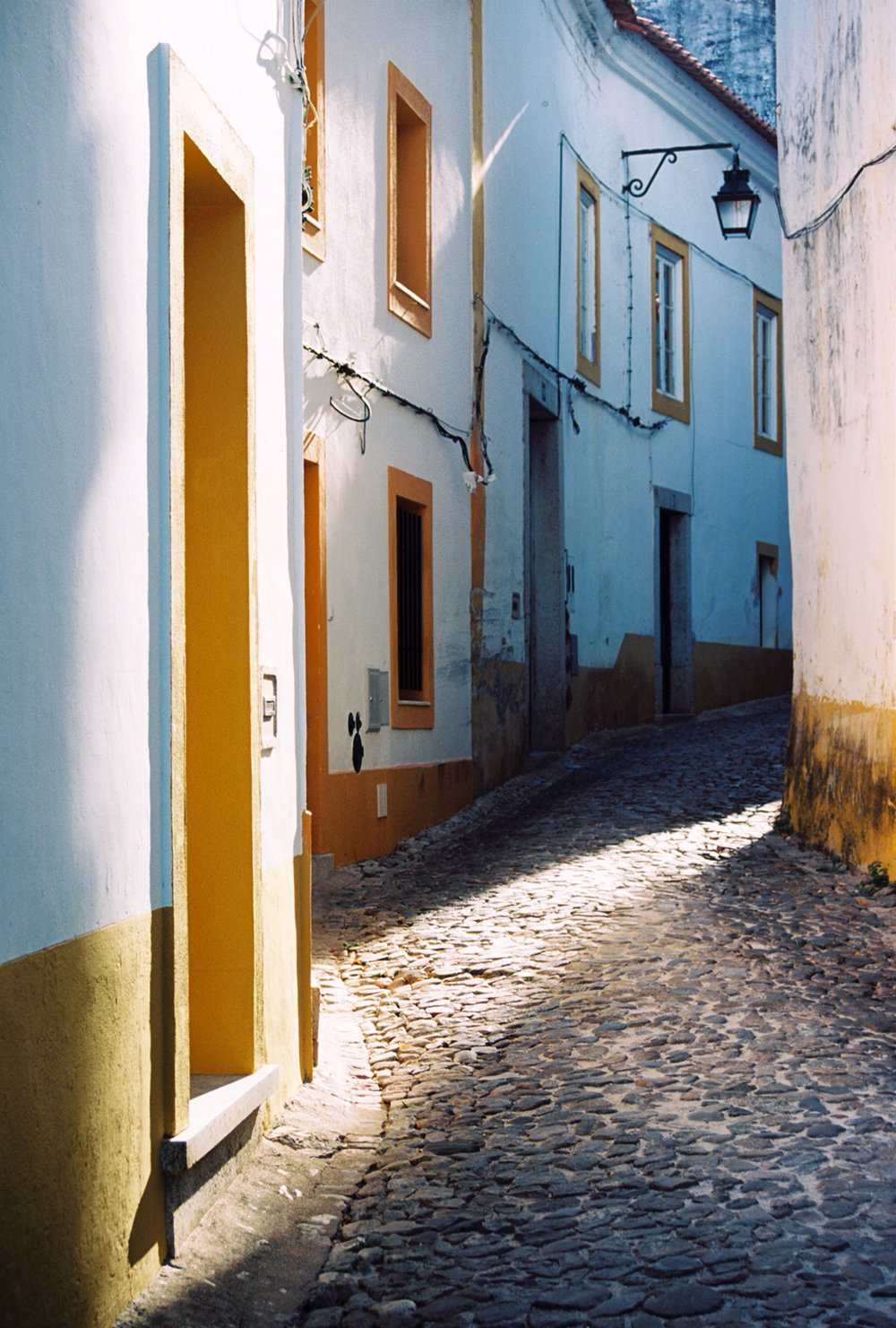 "Jennifer Uhrhane,  Évora #1, Portugal (1/10) , analog c-print from color negative ,  21 ½"" x 17"" framed, $425"