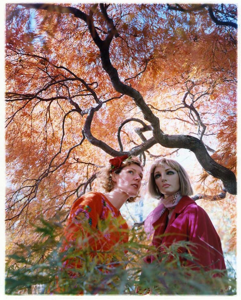"Asia Kepka , Bridget & I :  Conversation , c-print, 24"" x 20"" framed, $1,200"