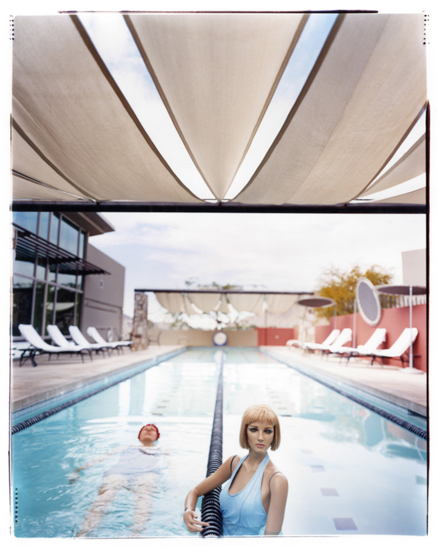 Asia Kepka , Bridget & I: Pool , c-print