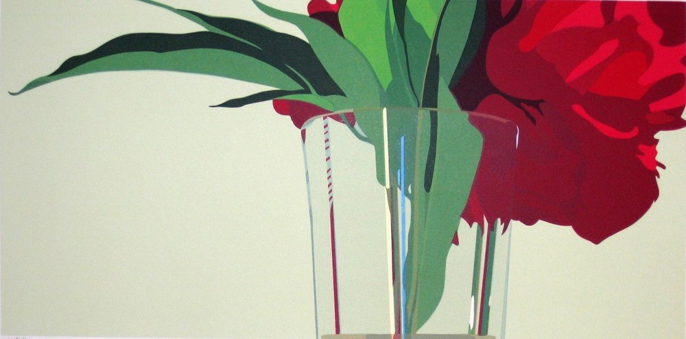 "Waterline (3/45) , serigraph, 26 1/2"" x 39 1/2"" framed, $950; unframed $650"