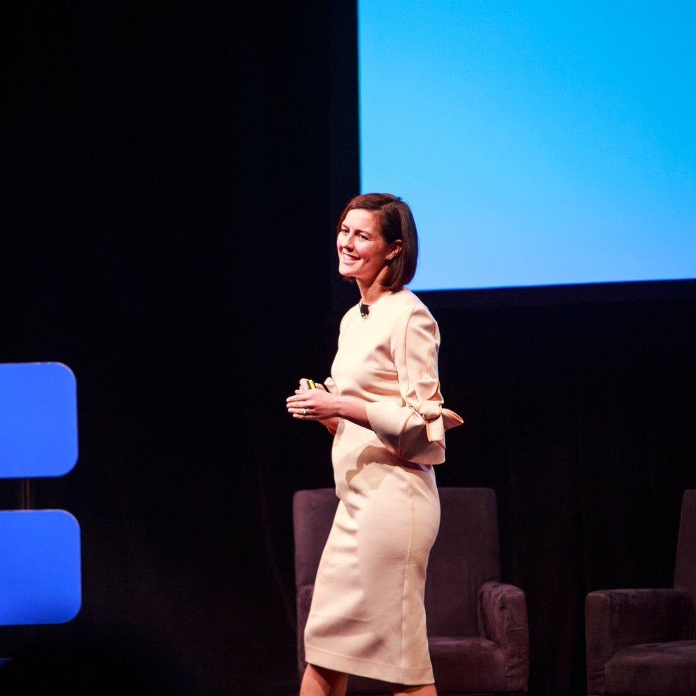 Sarah Personette, Facebook's VP of Global Business Marketing