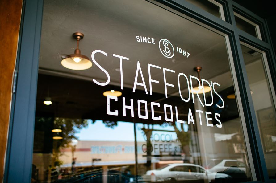 Stafford's Front Window