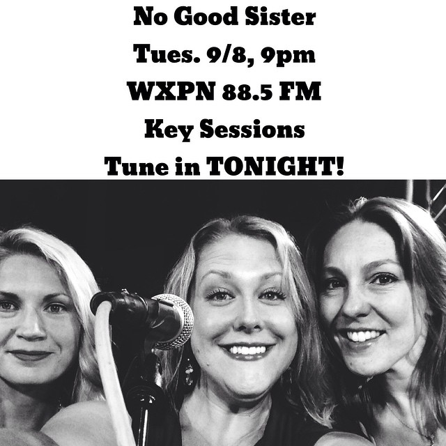 Click here to go to WXPN and listen in!