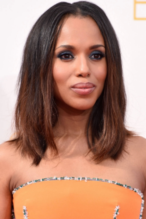 a lob on actress Kerry Washington