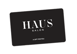 HAUS Salon gift card